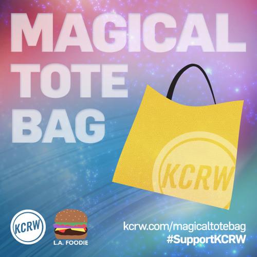 THE MAGICAL KCRW TOTE BAG: FRANCES ANDERTON