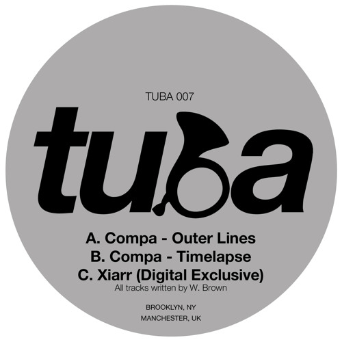 TUBA 007 :: Compa - Outer Lines / Timelapse [OUT NOW]