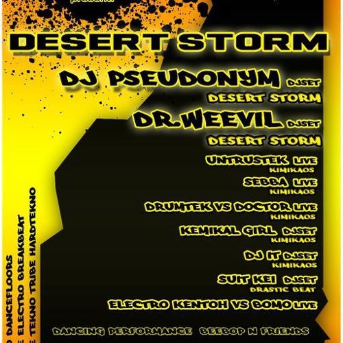 Desert storm @ Kimikaos party (cut1)