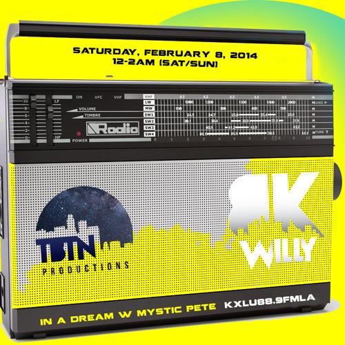 Live on KXLU In a Dream w/ Mystic Pete // 2-8-14