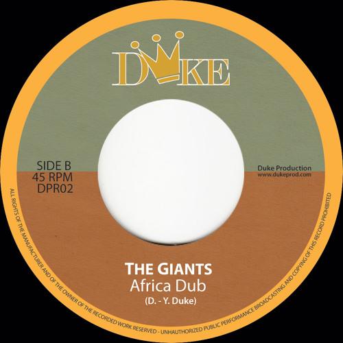 "DPR02 - THE GIANTS / AFRICA DUB (7"")"