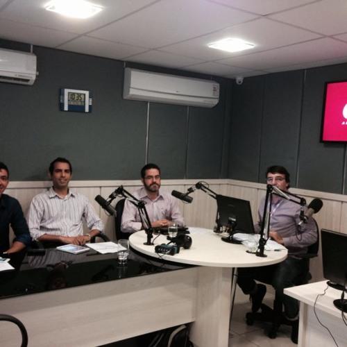 Debate sobre comércio eletrônico no Brasil, na CBN Recife