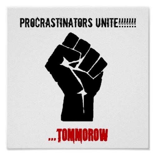 the best nation is procrastination