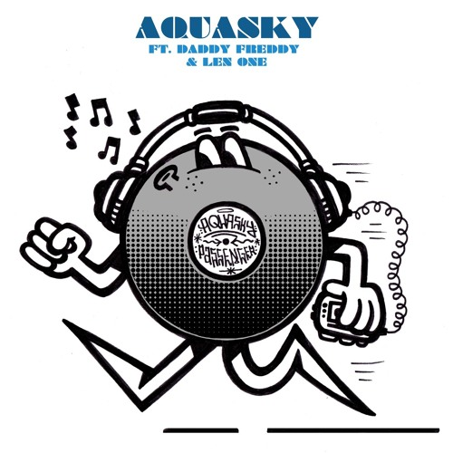 Aquasky ft. Daddy Freddy 'Side To Side' - PASA075 - 24.2.14