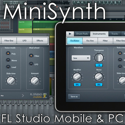 Nader Alipour - MiniSynth Demos (Downloadable FL Studio Projects)