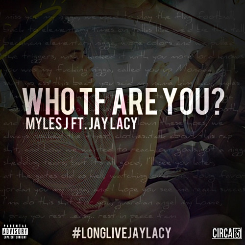 """""""Who TF Are You"""" Ft. Jay Lacy (Prod. By The Raiders & Kountdown)"""