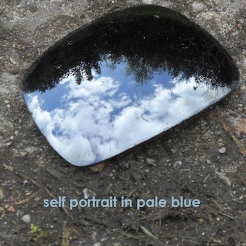 CVB solo Self portrait in pale blue