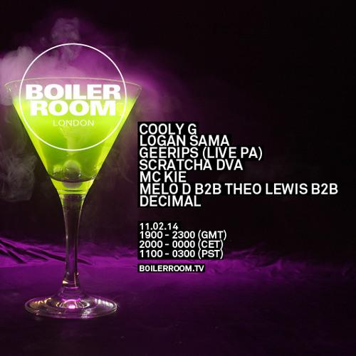Melo D b2b Theo Lewis b2b Decimal Boiler Room mix