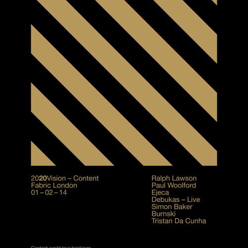 Ralph Lawson Live // 2020Vision Content Tour London // Fabric