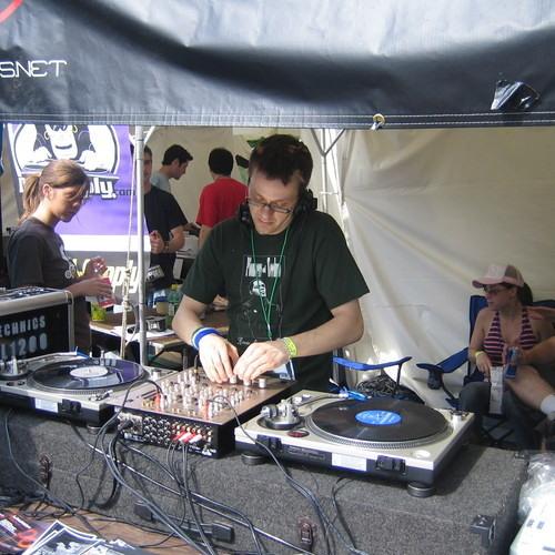 DJ set @ The Nefarious Booth during D.E.M.F. Detroit MI 2005