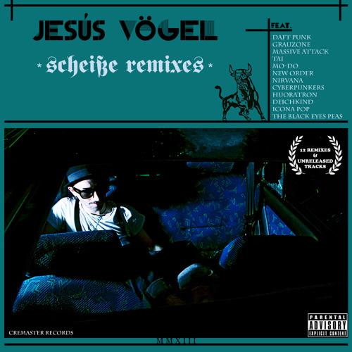 """Jesús Vögel """"Scheiße Remixes"""" LP [CRMSTR-06]"""