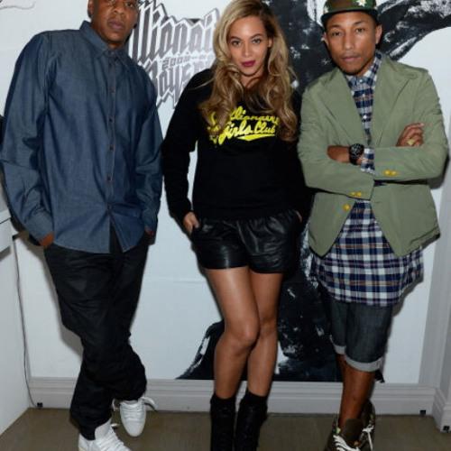 Beyonce Ft Jay-Z x Pharrell Williams - Happy & Drunk In Love
