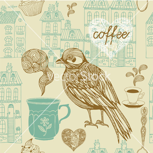 coffee and birdsong by Diane Havens