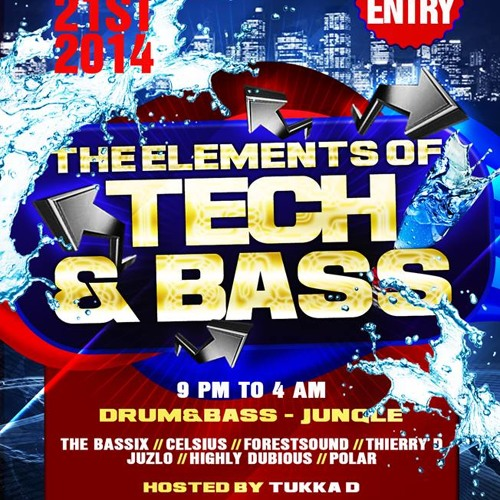 Dj Polar - Jungle Is Massive 2 Mini mix for The Elements Of Tech & Bass