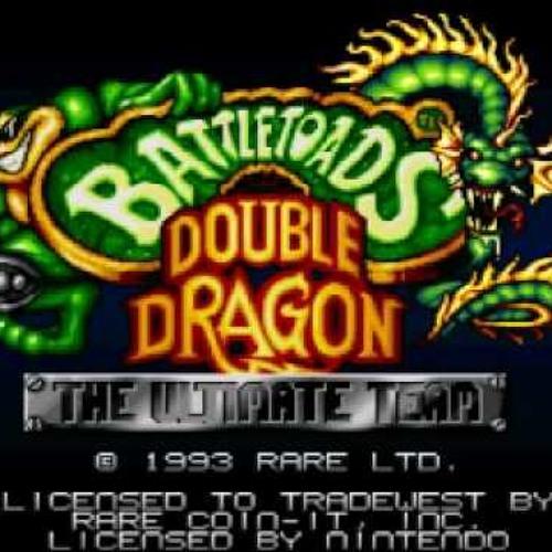 Battle Toads & Double Dragon - Snes Main Title Cover