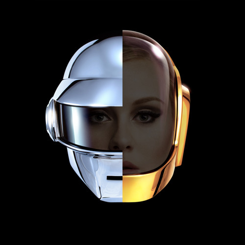 Adele vs Daft Punk - Give Sky Back To Music (Voxels The End Valentines Mashup)