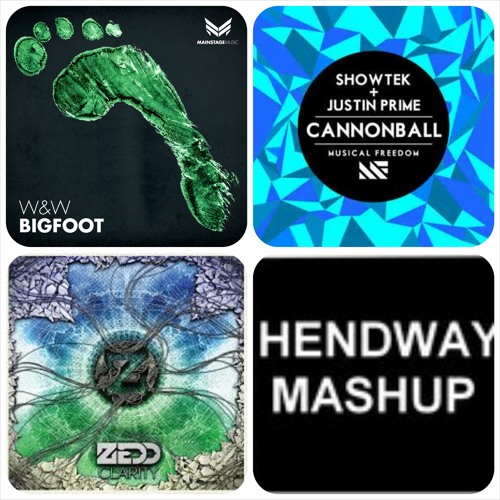 Cannonball Clarity Big Foot (Hendway Mashup) SUPPORTED ON NRJ*