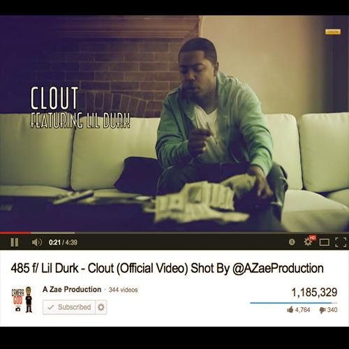 485 f Lil Durk - Clout