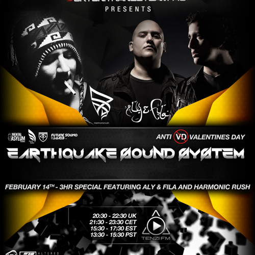 UkTuniTranceTeam140+ Pres. Earthquake Sound System 058 (Aly & Fila and Harmonic Rush Guestmixes)