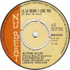 Alton Ellis - La La Means I Love You (Waxwork Re-Bump)