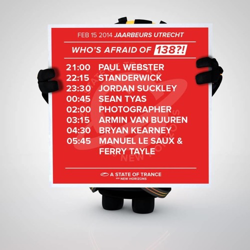 Armin van Buuren - ASOT 650 Utrecht (Who's Afraid of 138?) (Exclusive Free) By : Trance Music ♥
