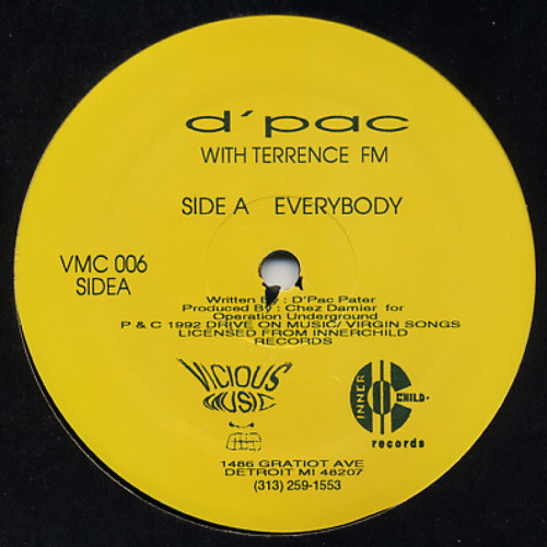 D'Pac With Terrance FM - Everybody (Berry's Beefed Up Edit)