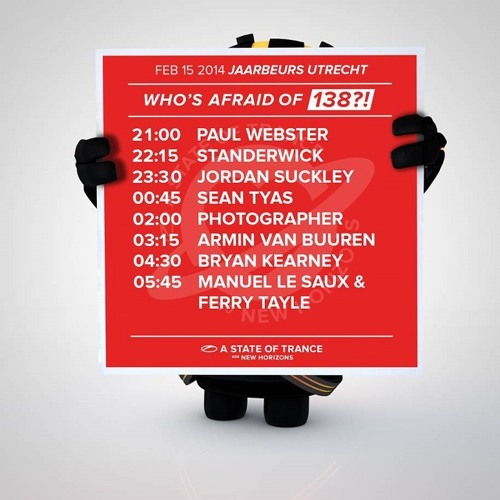 Photographer - Live @ A State Of Trance 650 (Who's Afraid Of 138 Stage, Utrecht) 2014.02.15