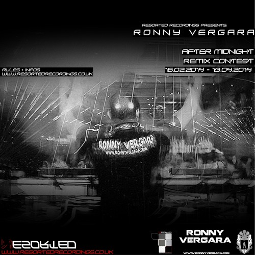 Resorted Recordings Presents: Ronny Vergara - After Midnight Remix Contest