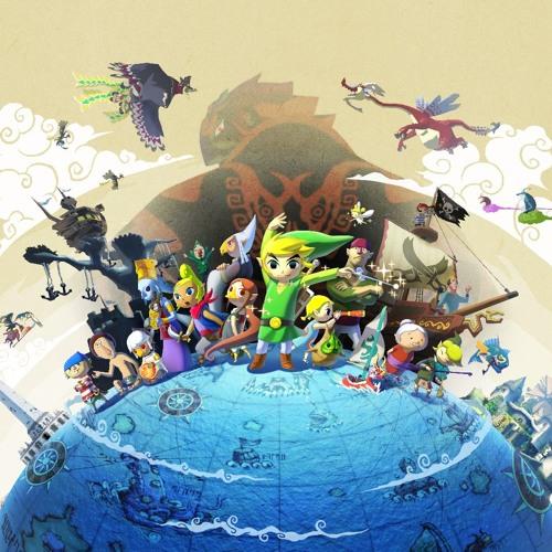 The Legend of Zelda Wind Waker : Molgera Battle 8 Bits