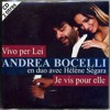 Vivo Per Lei -  Andrea Bocelli Helene Segara