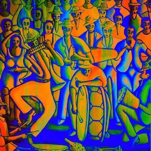 the psychedelic samba homemade