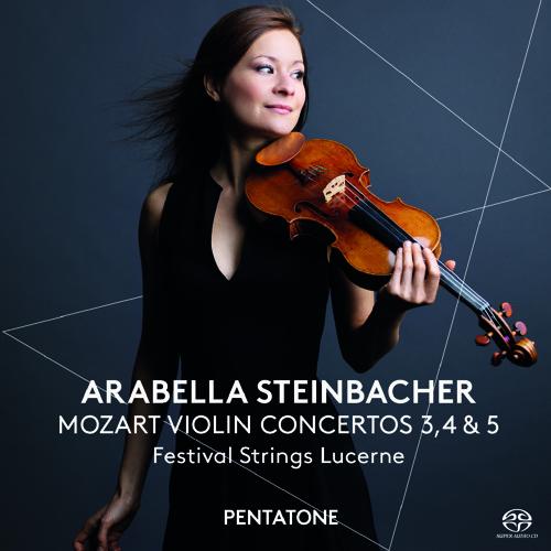 Arabella Steinbacher plays Mozart Violin Concerto No.3 In G, 1. Allegro