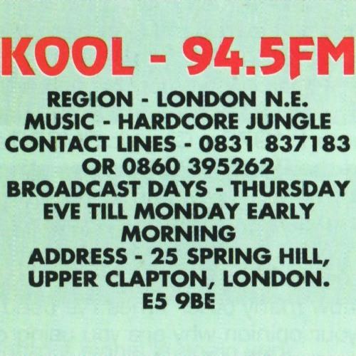 Kool FM Tapes