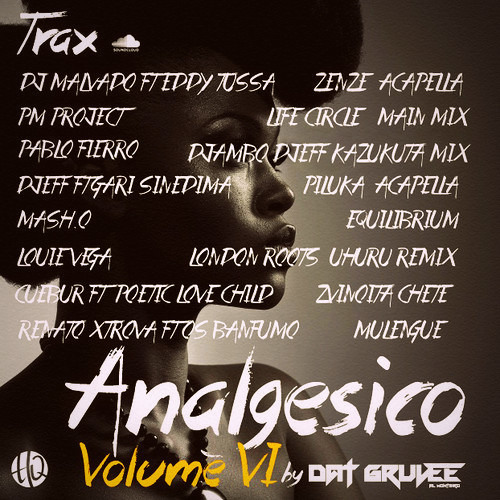 ANALGÉSICO VOL 6   AFRO - HOUSE & SOULFUL