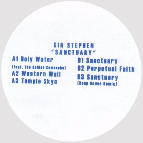 SIR STEPHEN - HOLY WATER (feat. THE GOLDEN COMANCHE) (HOS002)