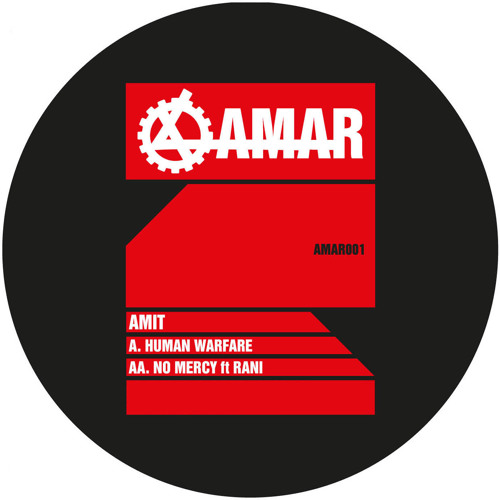 AMIT 'Human Warfare'  (Machinedrum Remix) [AMAR001]