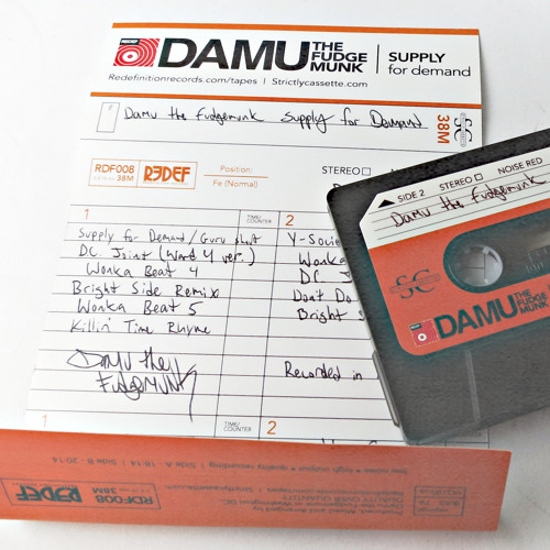 Damu The Fudgemunk - Supply For Demand - Full Tape Rip/MP3!