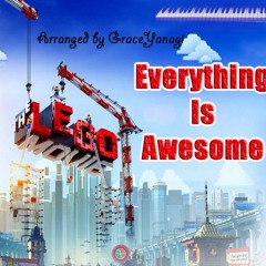 """The Lego Movie - """"Everything Is Awesome"""" (Piano Solo Cover)"""