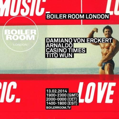 Damiano Von Erckert Boiler Room mix