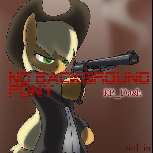 RB_Dash - No Background Pony