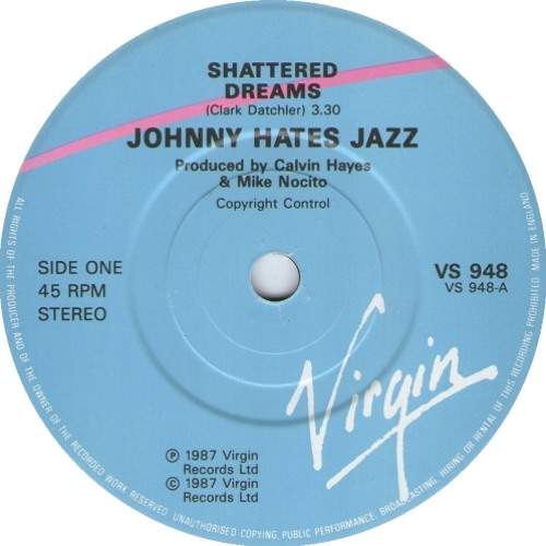 Johnny Hates Jazz - Shattered Dreams (Agent Stereo Remix)>> Free DL!!