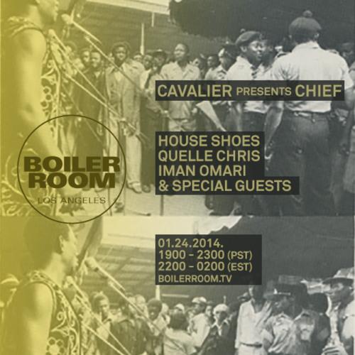 Iman Omari Boiler Room LA DJ Set