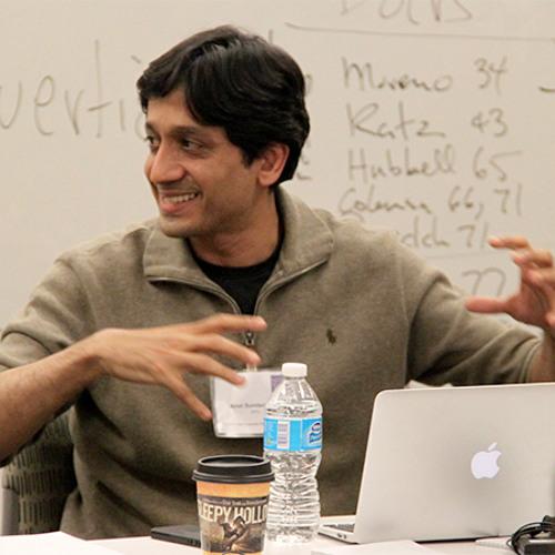 "Arun Sundararajan - ""Approach with optimism"""