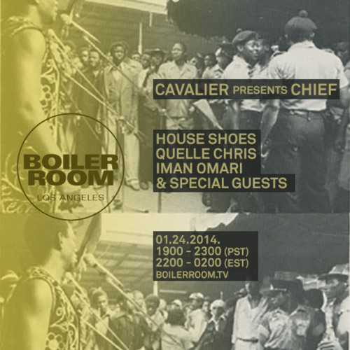 Cavalier & Iman Omari Live in the Boiler Room LA