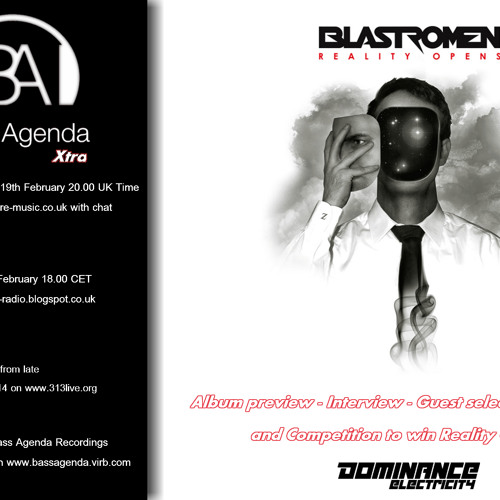 Bass Agenda Xtra: Interview, track selections and live set from BLASTROMEN