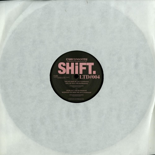 SHILTD004 - Enrico Mantini - Different Perspectives EP (full EP snip)