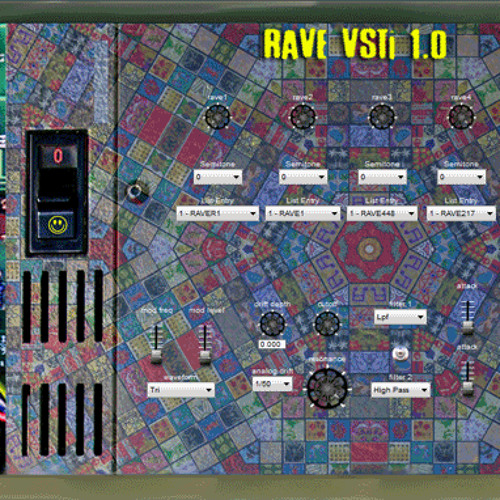 """""""RAVE"""" Synth Demo"""