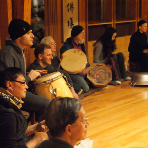 The sound of Dharma Drum Circle