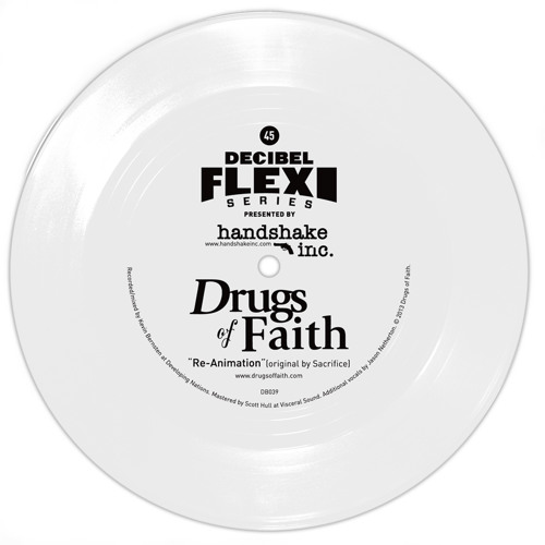 "Drugs of Faith ""Re-Animation"" (Original by Sacrifice) (dB039)"