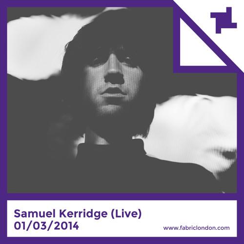Samuel Kerridge - 20 Minute Live Set